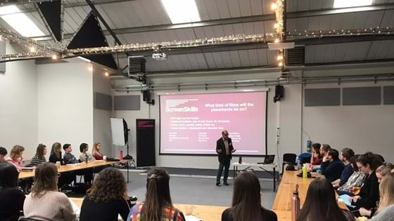 Film Trainee Finder 2020 begins with first induction weekend