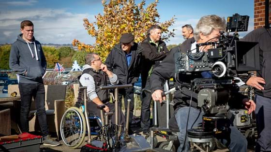 Grips for Heroes sessions held in Yorkshire and Wiltshire